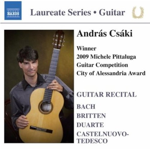Csáki András : Winner of Michele Pittaluga Guitar Competition 2009