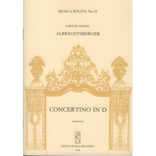Albrechtsberger, J. G.: Concertino in D (1769.)