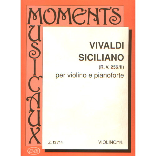 Vivaldi, Antonio: Siciliano (RV 256/II) MM-14