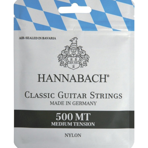Hannabach 500 MT medium tension