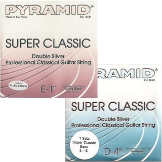 "Pyramid Super Classic ""Double Silver"" Carbon szett, mixed tension"
