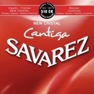 Savarez New Crystal Cantiga 510CR