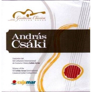 "Csáki András : ""XII. Julian Arcas International Classical Guitar Competition"""