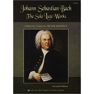 Bach, Johann Sebastian: The Solo Lute Works