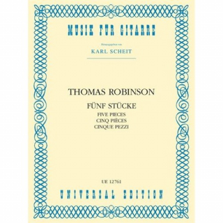 Robinson, Thomas: Five Pieces
