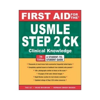 Le - Bhushan - Bagga: First Aid for the USMLE Step 2 CK Clinical Knowledge