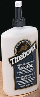 Titebond No-Run, No-Drip Wood Glue 237 ml