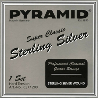 Pyramid Sterling Silver basszus szett hard tension