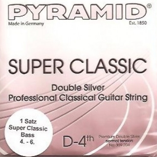 Pyramid Double Silver basszus szett normal tension