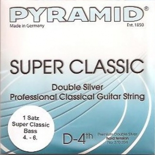 Pyramid Double Silver basszus szett hard tension